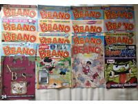 Various Beano and Dandy comics about 441 editions 79/80 & 00-02