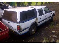 Vauxhall Brava/isuzu pickups wanted (2.5/2.8 diesel) 4x4/2wd