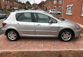 Peugeot 307 Quicksilver 2005 Manual 1.6L