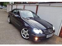 * 2007 56 Mercedes CLK220 CDi Sport Amg Auto Coupe *