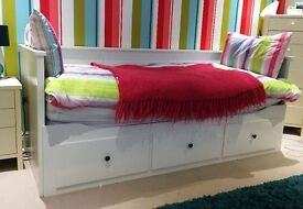 Ikea Single / Double Day Bed and Mattresses
