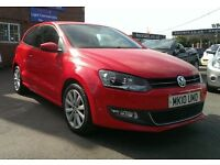 VOLKSWAGEN POLO 1.2 TSI **50'000 MILES**ONE PREVIOUS OWNER**