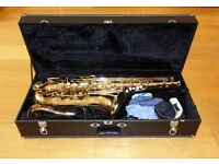 Jupiter JTS-787 Tenor Saxophone. Good Condition. With hard case