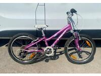 "Girls trek mountain bike 20"" wheels, alloy frame £55"