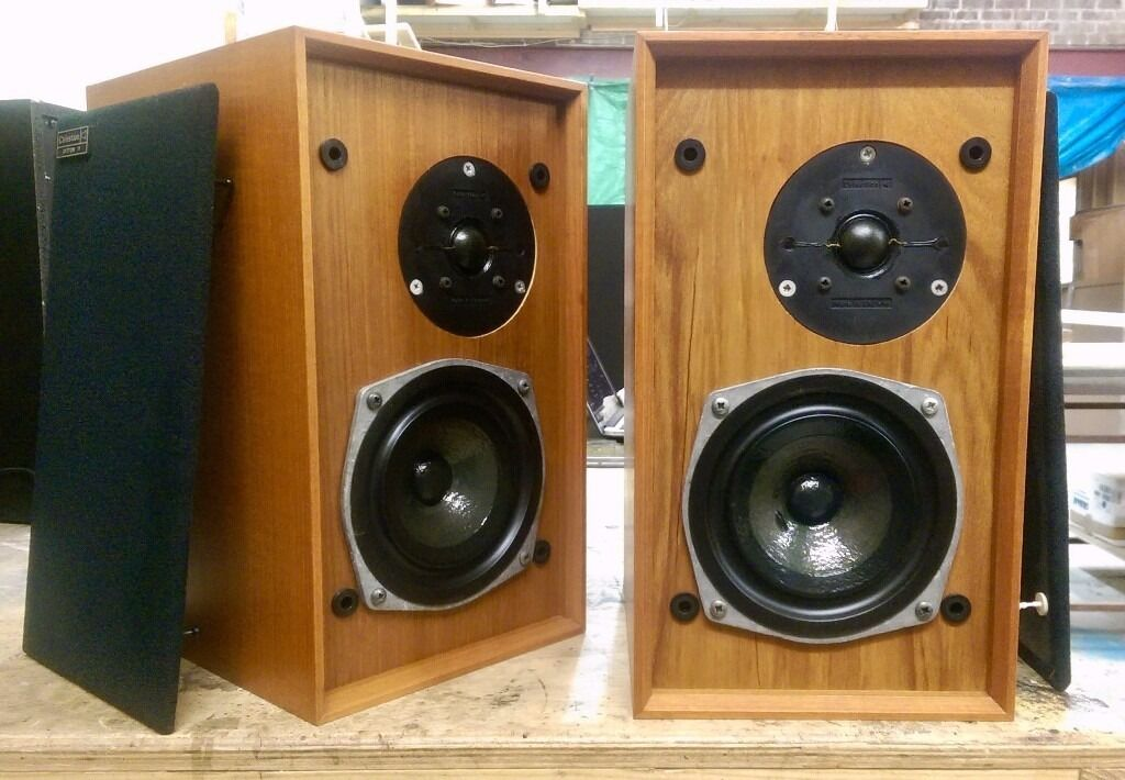 Vintage Celestion Ditton 11 Bookshelf Speakers