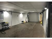 Workshop/Car Detailing booth available for weekend day rental in Renfrewshire