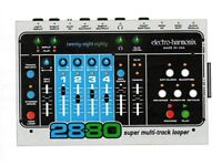Electro Harmonix 2880 + Control Pedal + CF Card Used (In Perfect Woking Condition)
