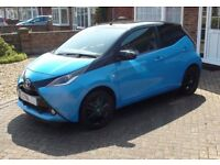 2016 Toyota Aygo x-cite Motorhome Tow Car Unibrake