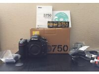Brand new Nikon D750 (Body Only)