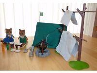 Sylvanian Families Reynard Children Scout Camping Set