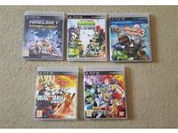 PlayStation 3 games various prices