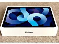 "IPAD AIR 10.9"" 2020 64gb SKY BLUE 4th GEN WIFI & CELLULAR BRAND BOXED & WARRANTY rrp £709"