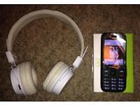 New Basic Mobile (EE) + Bluetooth Headphones