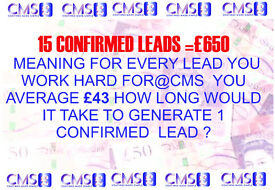 Leaflet distributor, lead generators, filed managers required