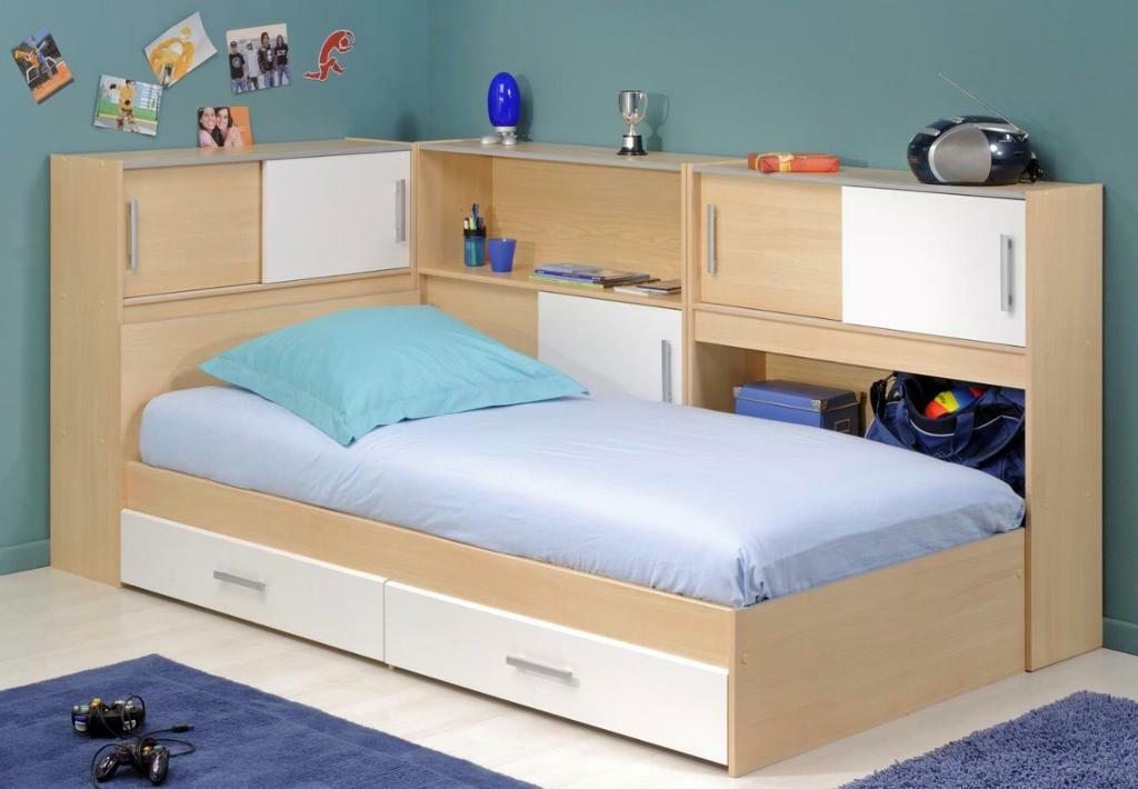 Dreams Snoop Kids Single Bed With Side Storages