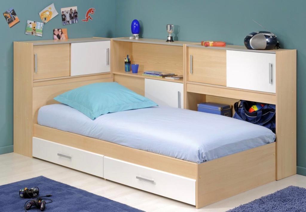 Dreams Snoop Kids Single Bed With Side Storages