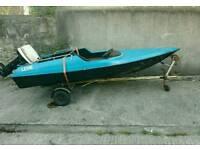 14ft speedboat 35hp evinrude