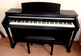 KAWAI CA-63 Digital Piano and stool, excellent condition and little use.
