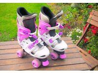 Girls Roller Skates Size 3-5!