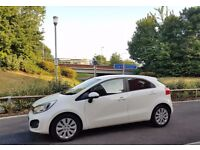 Kia Rio (June 2014), excellent condition, full service history, MOTd June 2017, Four years` warranty
