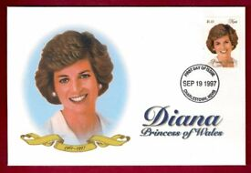 1997 - NEVIS - FIRST DAY COVER - DIANA, PRINCESS OF WALES - MINT CONDITION