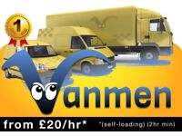 CHEAP MAN VAN hire, house removals service delivery movers West Hampstead Cricklewood wembley
