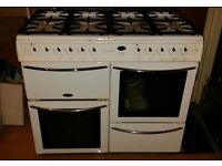 Freestanding range cooker