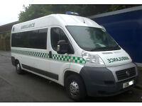Wanted: Vehicle Storage Yard for Ambulance Service