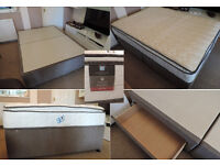 Sealy double bed. Pocket Spring Mattress Pillow Top £270