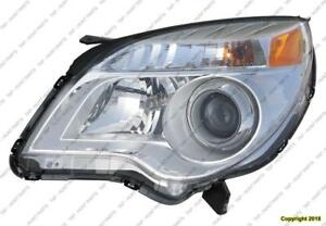 Head Lamp Driver Side Ltz Mdl High Quality Chevrolet Equinox 2010-2015