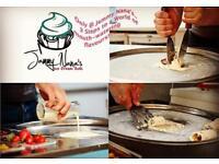 Jammy Nana's ice cream rolls
