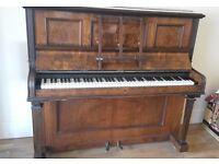 Victorian/Edwardian upright piano
