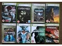 8x XBox 360 games includes Bayonetta, Halo 3, Forza 2, Soul Caibur IV etc