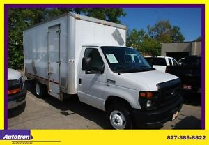 2012 Ford E350 14 FT BOX SIDE DOOR
