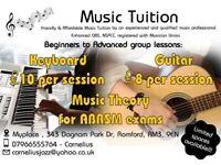 Guitar/Keyboard Lessons