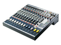 Soundcraft EFX8 8 input mixer with Lexicon FX
