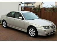 2005 Rover 75 Connoisseur Automatic, Only 37078 Miles, Husband and wife owned, Excellent History...
