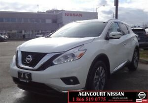 2017 Nissan Murano SL AWD CVT |Leather|Panoramic Roof|360 Camera