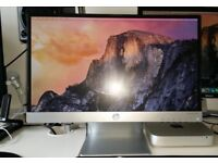 HP Pavilion 22xi - 21.5 inch IPS monitor - really nice matt screen
