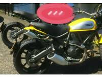 2015 ducati scrambler icon very low mileage