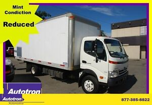 2010 Hino 155 20 ft BOX LOADED CABOVER