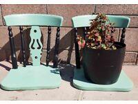Bespoke Patio Plant pot display holders
