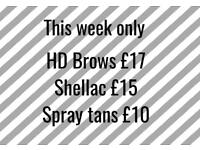 Beauty offers this week
