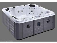 Valencia 1 Lounger Balboa Hot Tub Whirlpool Spa