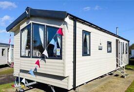 static caravan, holiday home, Blackpool, Marton Mere, 2015 salsa eco, dg, heating, 37x12ft 3bed