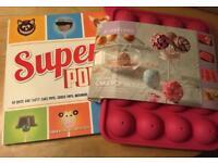 Cake pop kit and recipe book