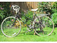 Ladies Raleigh Ebony Bicycle (Drop handlebars, 5 speed derailleur gears)