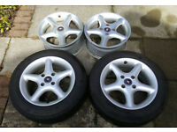 Set of 4 alloy wheels to fit a Ford Mondeo MK1 & Mk2