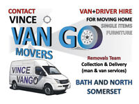 Removals, Single Items, Furniture, Collection, Delivery Man and Van in Bath and North Somerset,