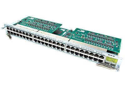 Cisco NME-XD-48ES-2S-P 48-Port RJ-45 POE 802.af Ether Switch Module ios 15.0-tar